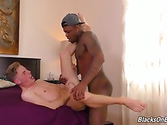 Britain Westbury is one lucky boy! Sure, there`s many reasons why. He`s got a handsome, in-shape black man in his bed that`s got a 9 inch, uncut cock. But he`s truly lucky because he met Mr. Cali online, and Britain wasn`t `catfished`. You probably know t