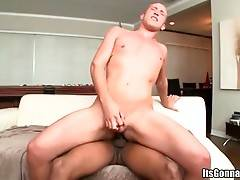 Toned Black Stud Ruthlessly Drills White Fellow 2