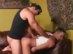 Horny Ebony Friends Are Sucking And Fucking 3